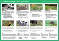 Merkblatt Gefahren für Igel
